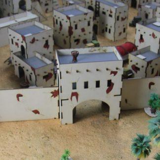 Desert City Wall